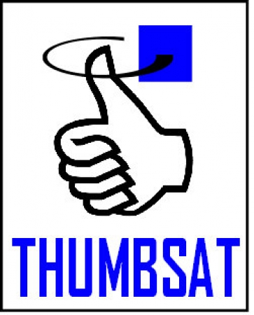 Vintage ThumbSat Decal